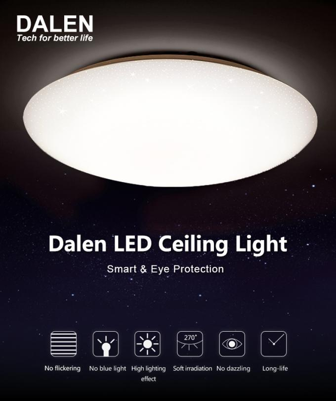 Insect Resistance LED Lounge Ceiling Lights 40000H Excellent Luminous  Efficiency
