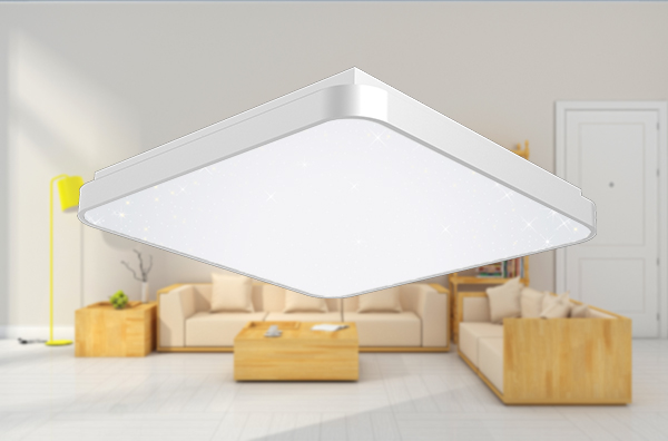 Dimmable Indoor Square Led Ceiling Lights 50w Durable With Superior Aluminum Frame