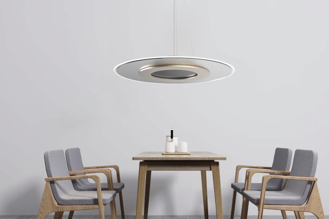 Smart Modern Pendant Lighting With Remote Control And Night Light For Dining Room