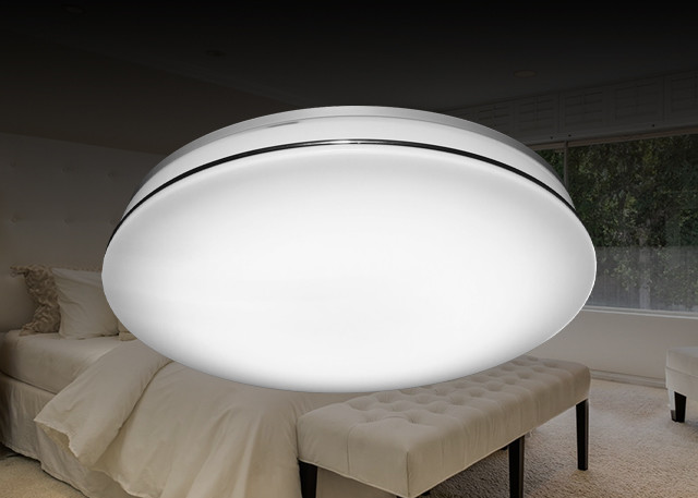 Intelligent Control LED Bathroom Ceiling Lights Desinged With Eye - Protection Technology