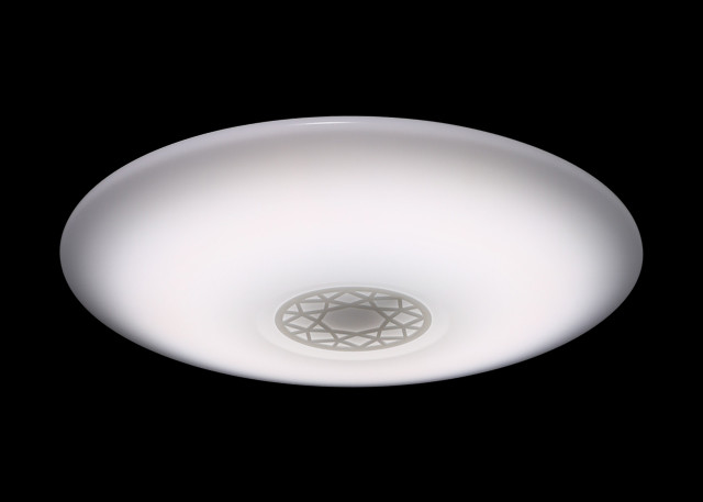 φ600mm Intelligent LED Surface Mount Ceiling Lights With Warm / Cool / Natural Light Adjustable