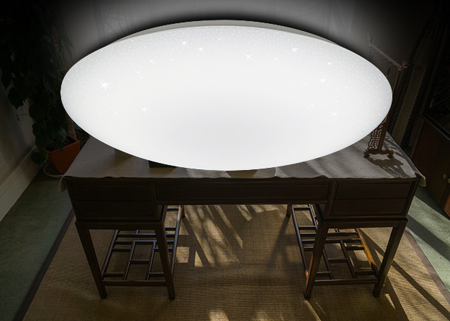Bathroom Led Lighting Fixtures In Ceiling And Freestanding: 5000LM Dimmable LED Ceiling Lights , High CRI Bathroom LED