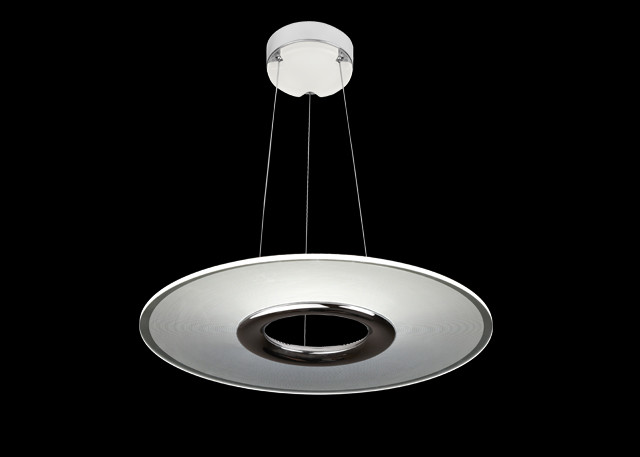 No Flickering Modern LED Pendant Lights 2600LM 4 Level Adjustable With SAMSUNG LED