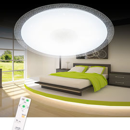 Safe Convenient Smart LED Ceiling Light High Transmittance With Dual Control