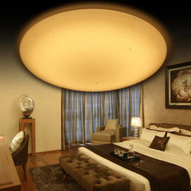 High Brightness Round Ceiling Lamp ,  6 - Level CCT Dimmable Round White Ceiling Light