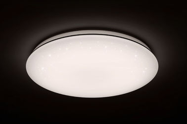 Aluminous Frame Design Round Ceiling Lamp ,  Remote Control Large Round LED Ceiling Light